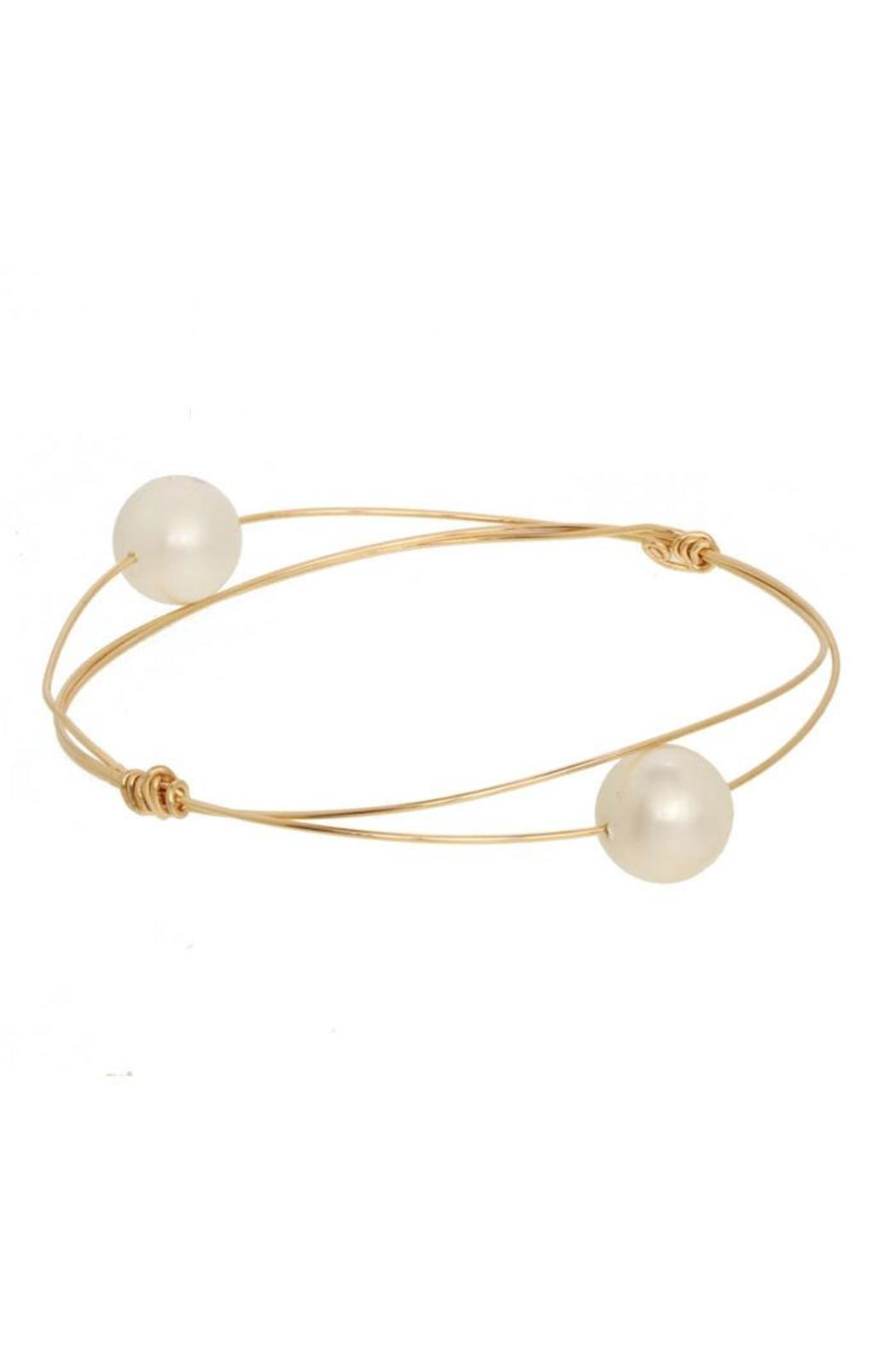 Anne Woodman Bangle With Pearls - Front Cropped Image