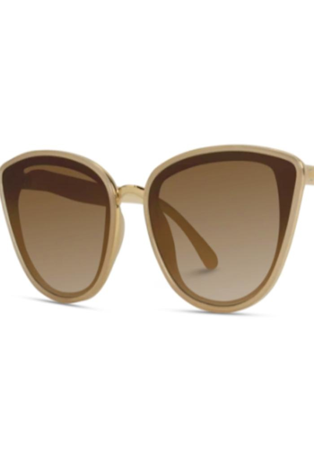 Anne Woodman Cat Eye Sunglasses - Front Cropped Image