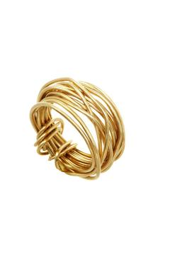 Anne Woodman Gold Wire Ring - Alternate List Image