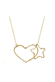 Anne Woodman Heart Star Necklace - Product Mini Image