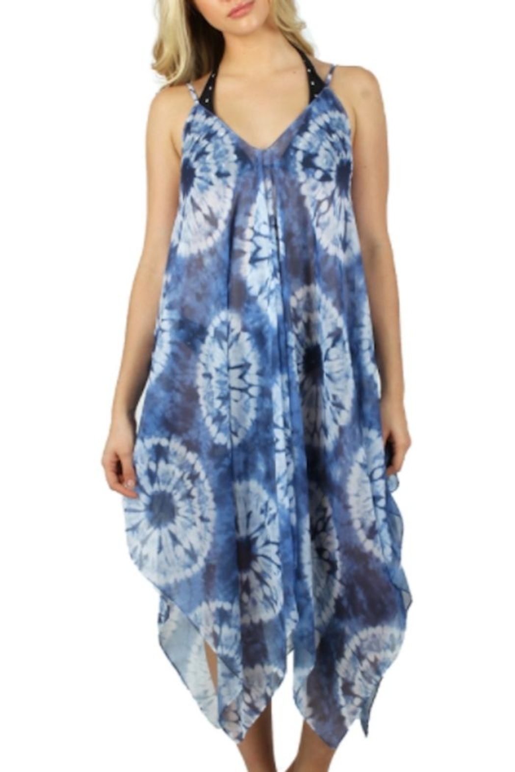 Anne Woodman Tie Dye Cover Up - Main Image