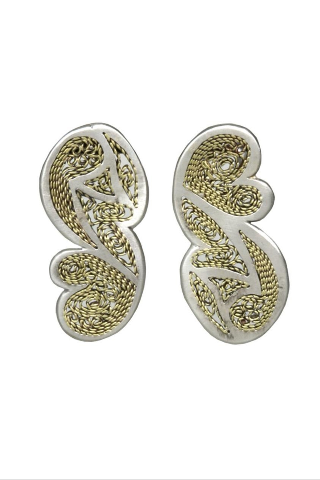 Anneaux Bleus Jewelry Cordoba Earrings - Front Cropped Image