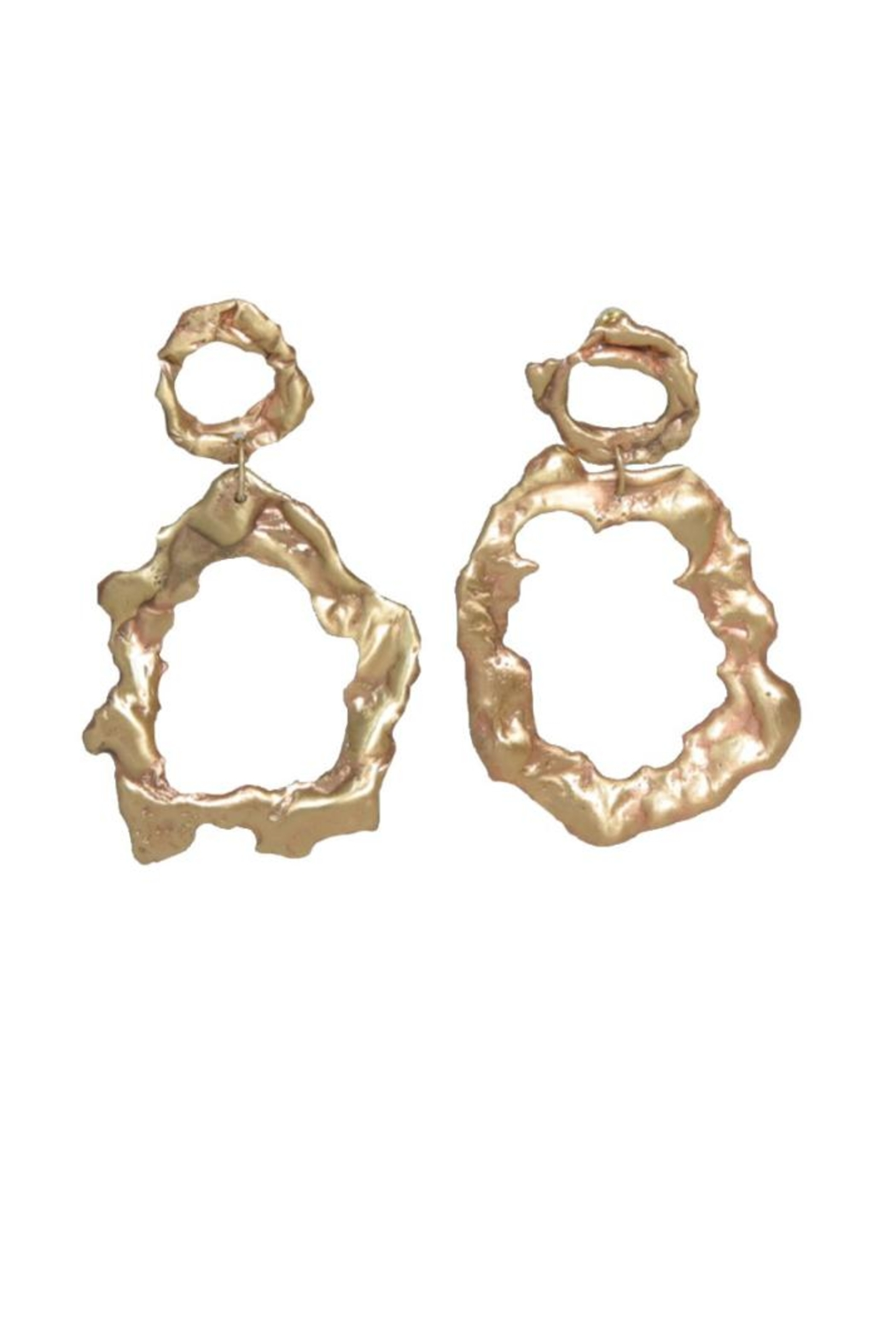 Anneaux Bleus Jewelry Free Form Earrings - Front Cropped Image
