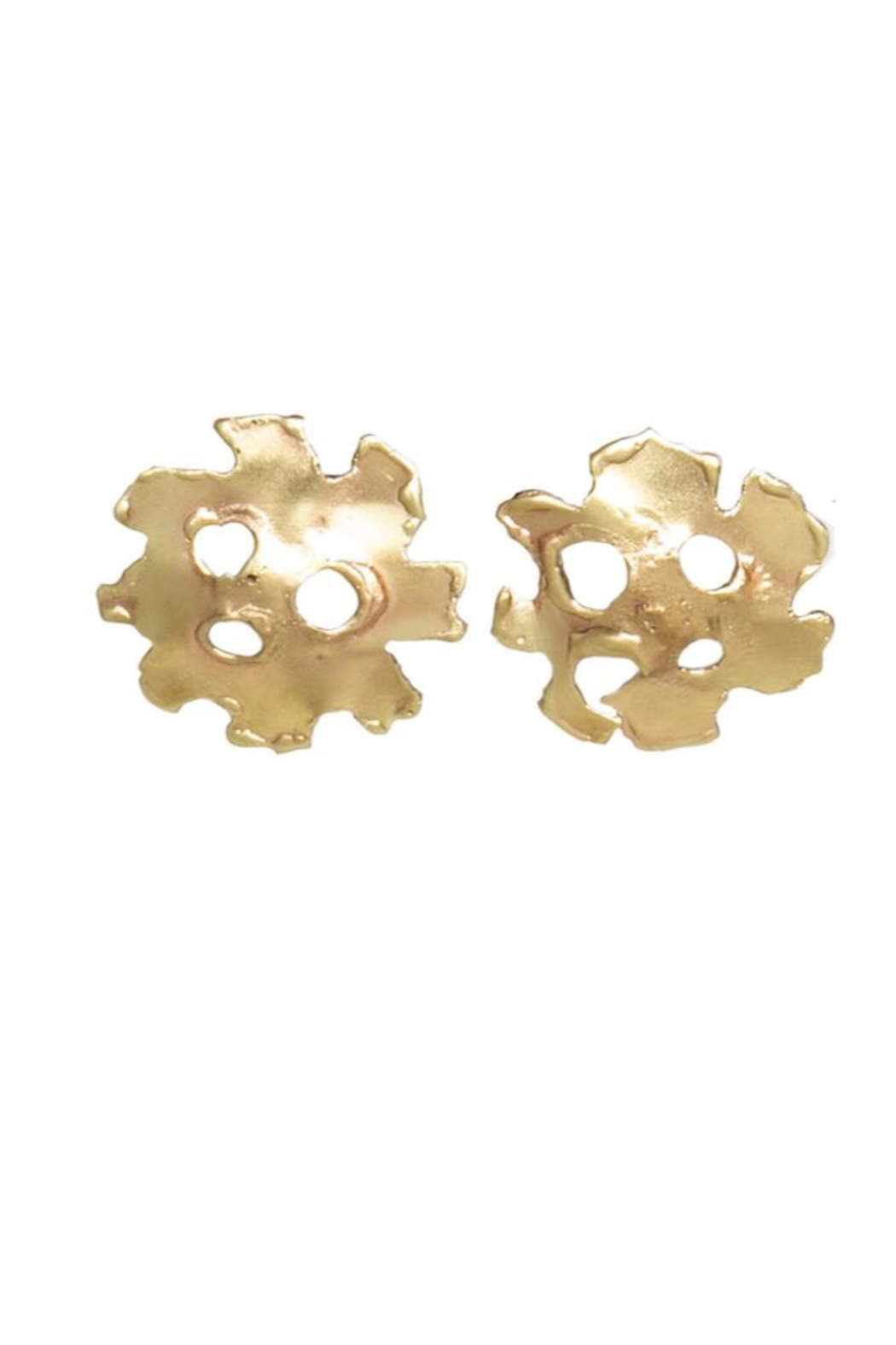 Anneaux Bleus Jewelry Ghost Earrings - Front Cropped Image