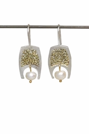 Anneaux Bleus Jewelry Pearl Cordoba Earrings - Front cropped