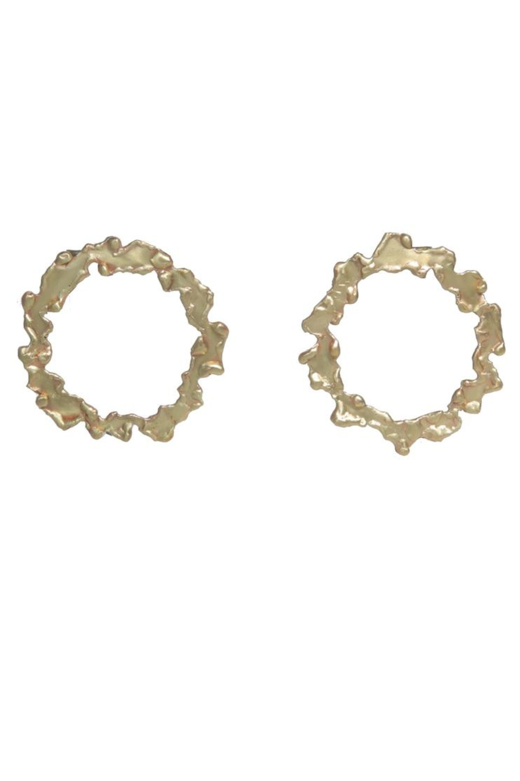 Anneaux Bleus Jewelry Round Free Earrings - Main Image