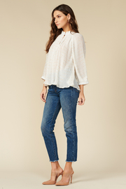 Adelyn Rae Annelie Pleated Top - Product Mini Image
