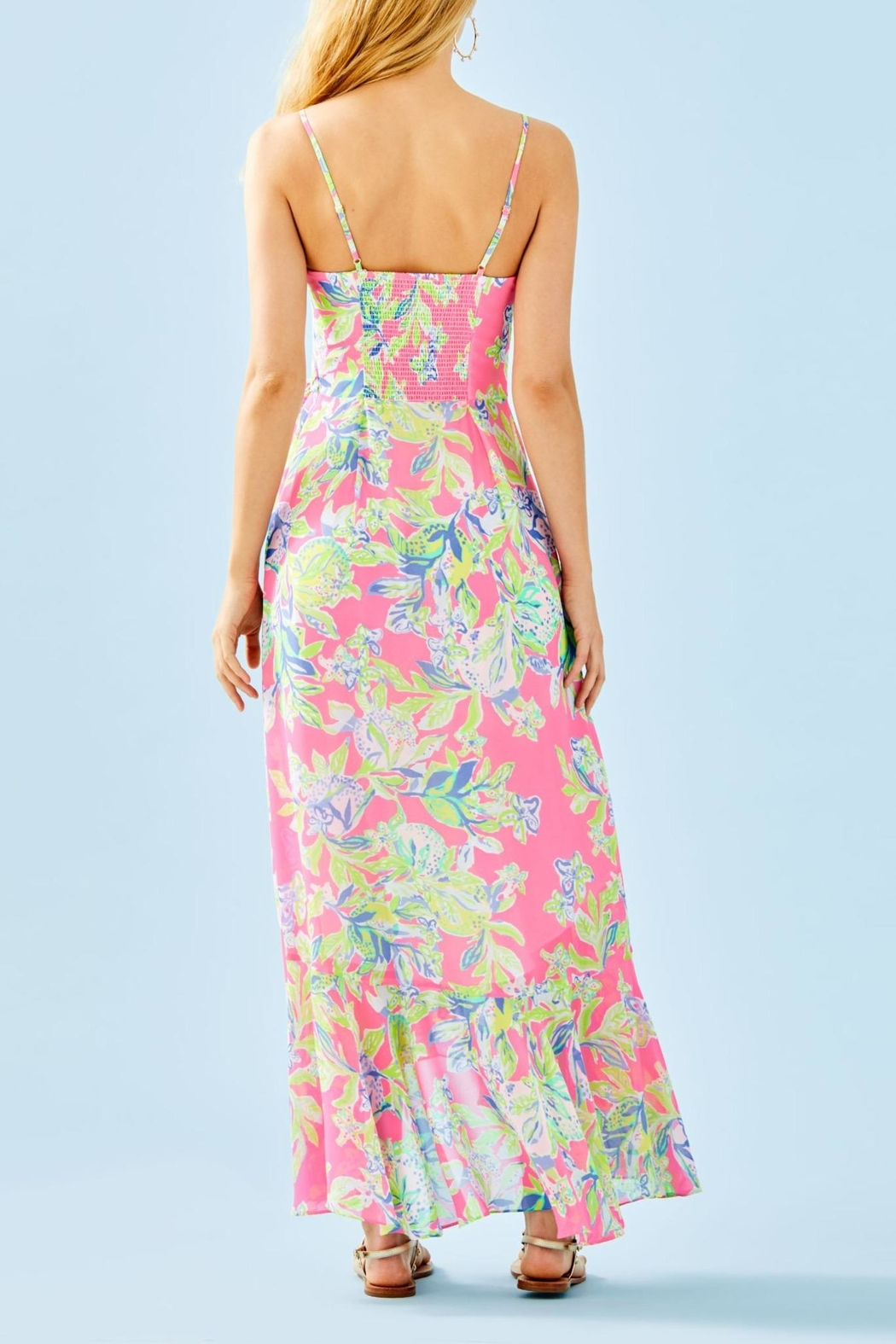 Lilly Pulitzer Anni Maxi Dress - Front Full Image