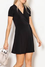 Blooms in The City Anni Wrap Dress - Product Mini Image
