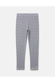 Joules Annie Ribbed Leggings - Navy Stripe - Product Mini Image