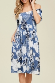 annabelle Annie Venecia-Print Dress - Front cropped