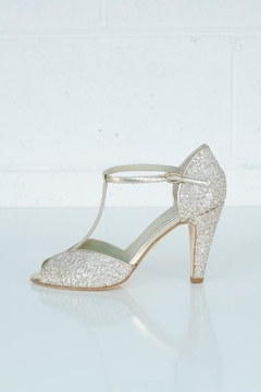 Shoptiques Product: Butterfly Glitter Stiletto