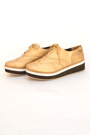 Annik Flats Gold Vazol Shoes - Product Mini Image