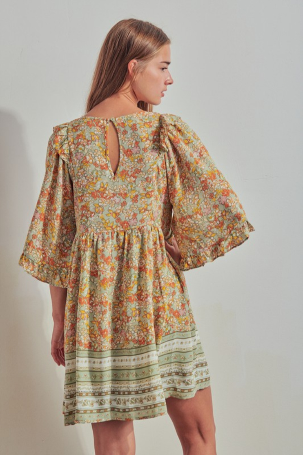 Threads + Co. Annora Dress - Back Cropped Image