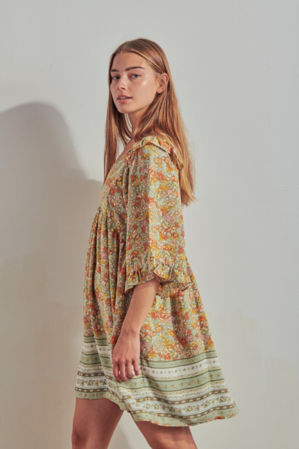 Threads + Co. Annora Dress - Side Cropped Image