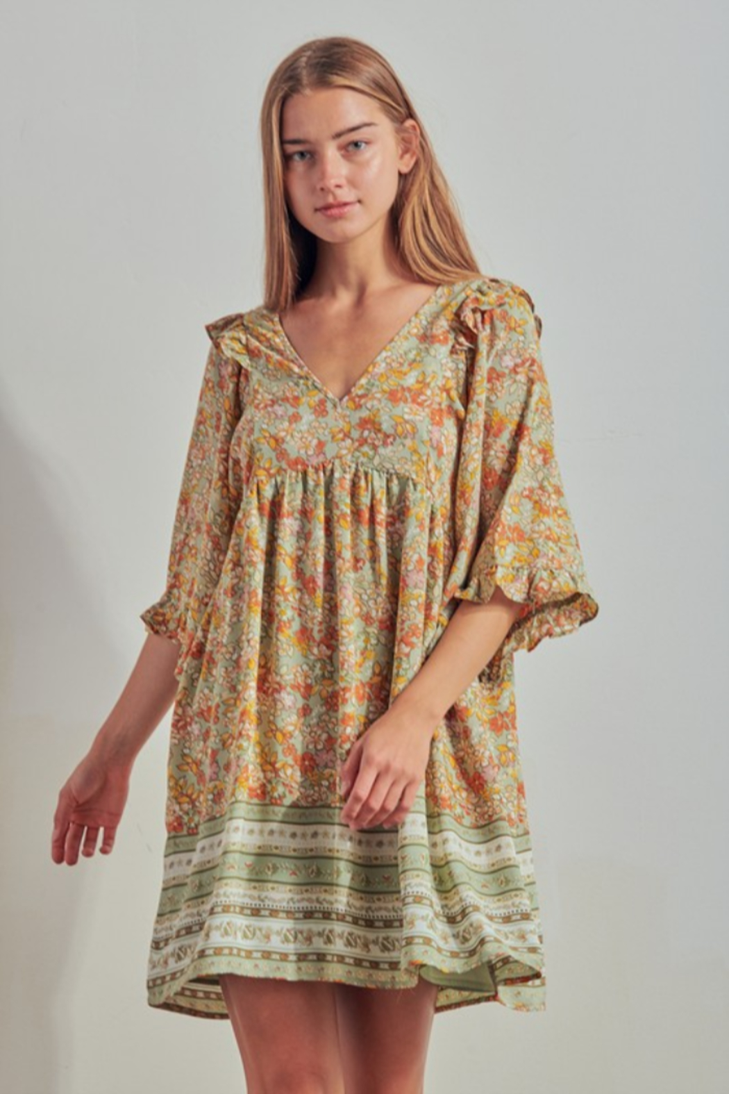 Threads + Co. Annora Dress - Front Full Image