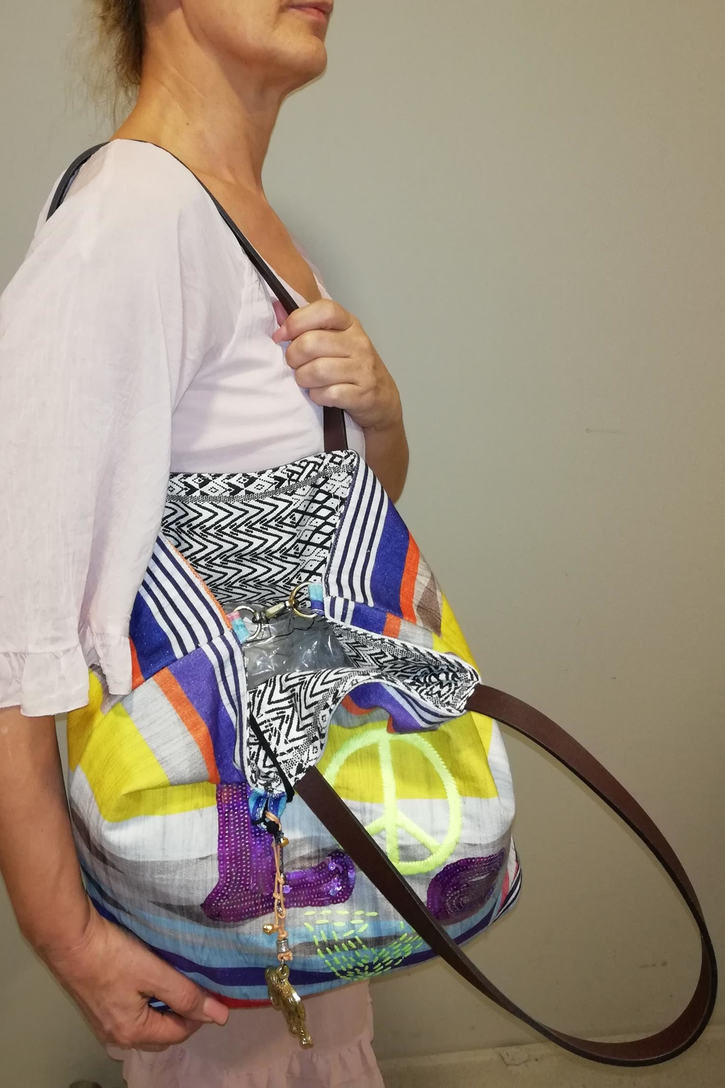 Anokhi Love Piece Bag - Front Full Image