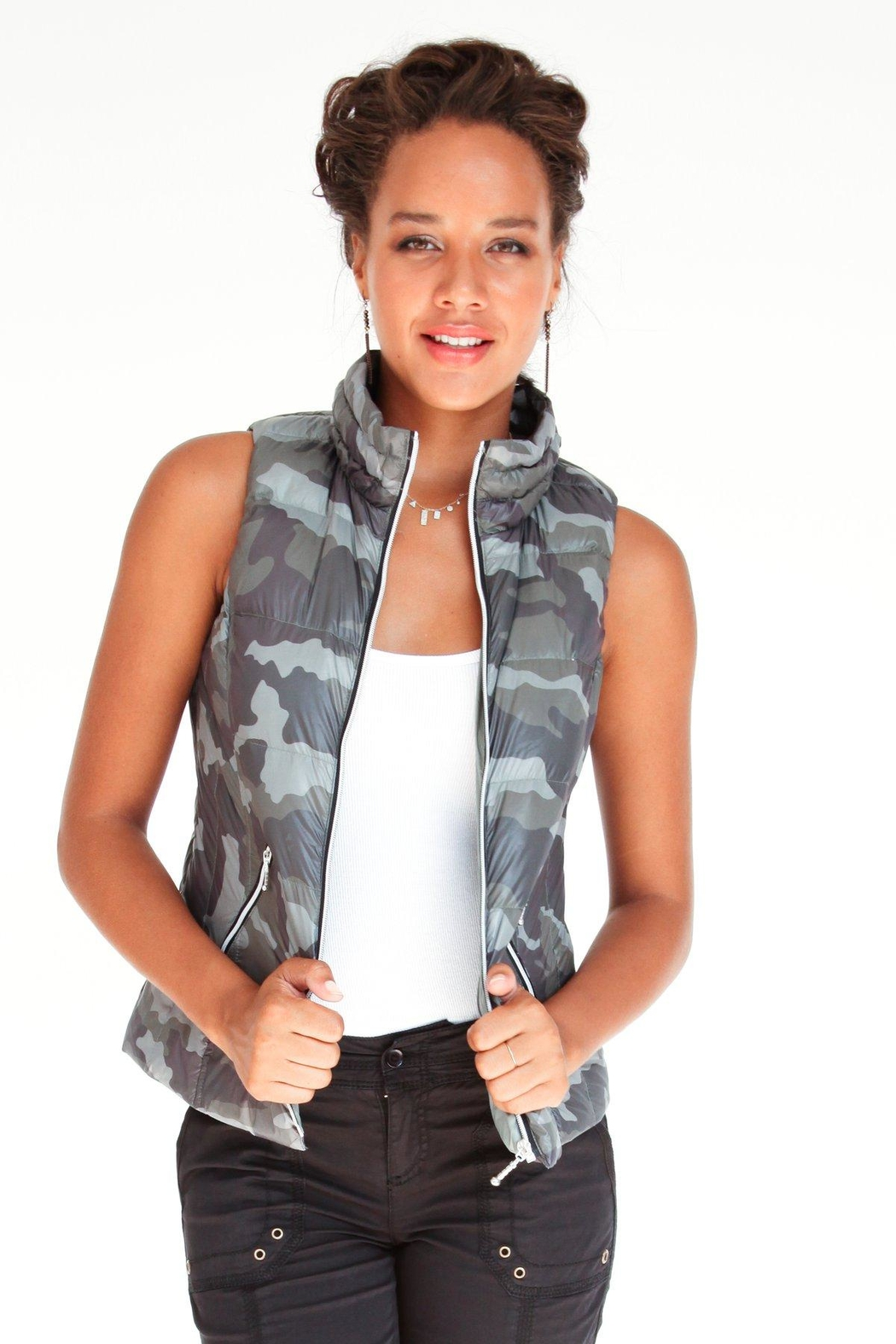 Anorak Puffer Vest - Front Cropped Image