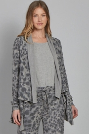 Another Love Brushed Knit Cardigan - Front cropped