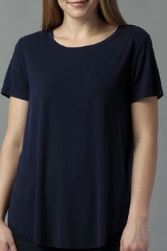 Shoptiques Product: Charcoal Basic Tee