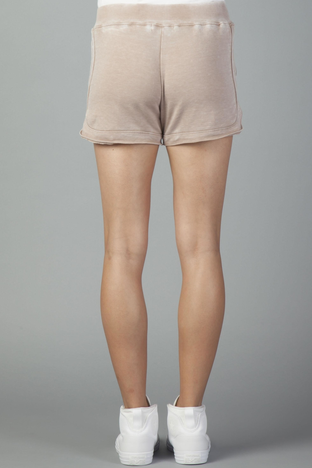 Another Love Mocha Leisure Shorts - Side Cropped Image