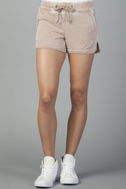Another Love Mocha Leisure Shorts - Product Mini Image