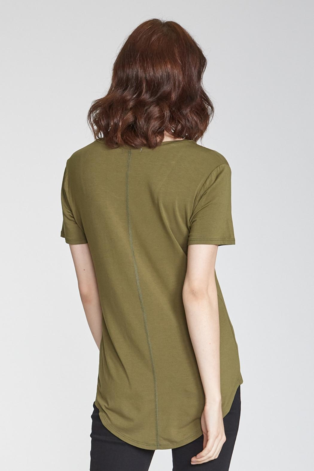 Another Love Phoenix Pocket Tee - Side Cropped Image