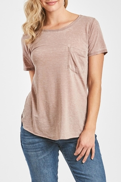 Shoptiques Product: Rustic Pocket Tee