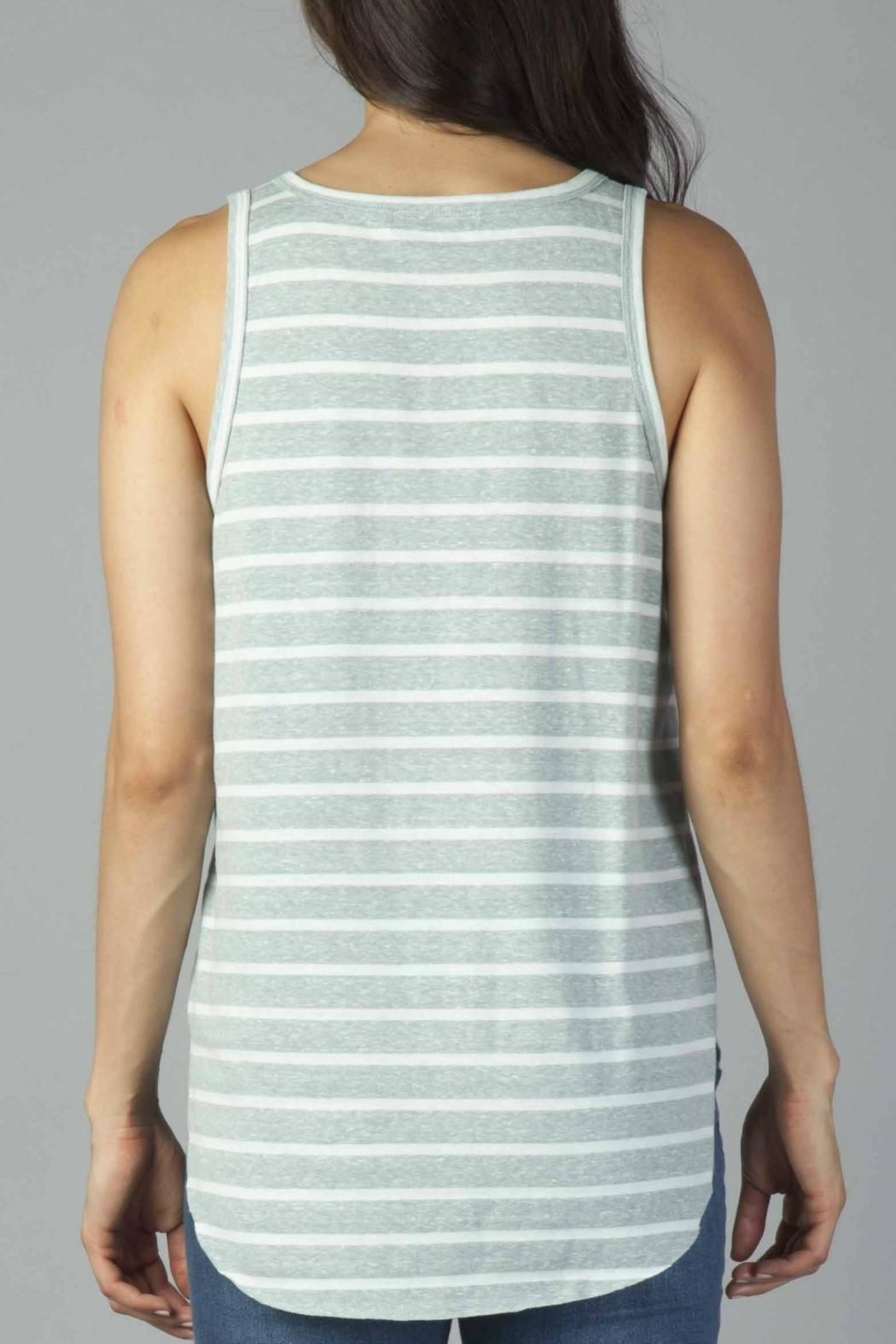 Another Love Striped Pocket Tank - Side Cropped Image