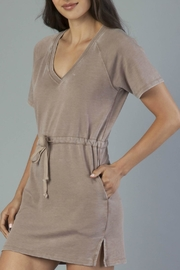 Another Love Tie Waist Dress - Front full body