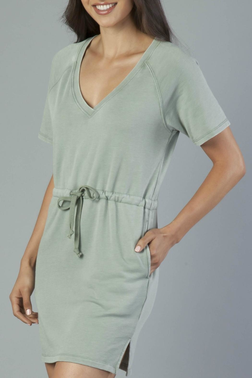 Another Love Tie Waist Dress - Side Cropped Image