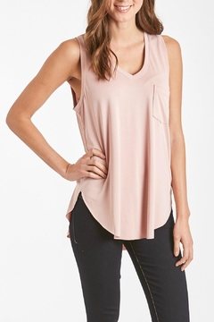 Shoptiques Product: V-Neck Pocket Tank