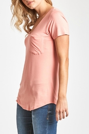Another Love V-Neck Pocket Top - Other