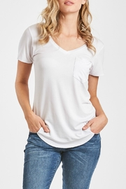 Another Love V-Neck Pocket Top - Front cropped
