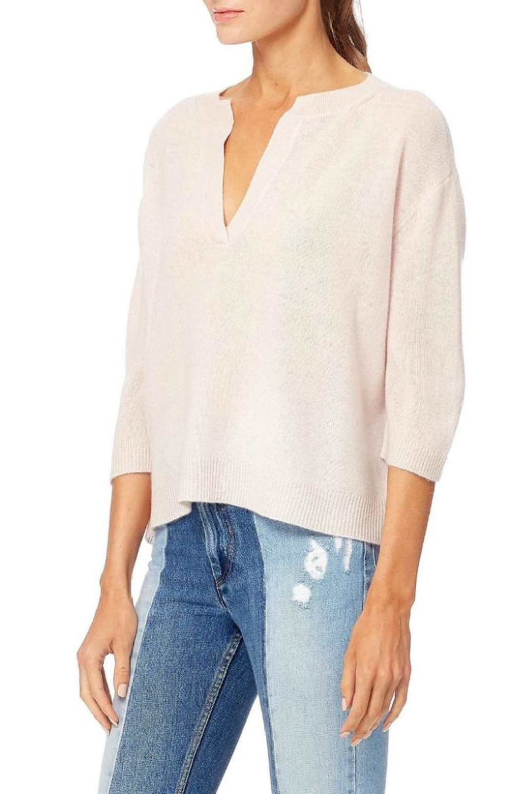 360 Cashmere Anouk Sweater - Side Cropped Image