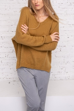 Wooden Ships Ansel V-Neck Sweater - Product List Image