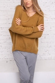 Wooden Ships Ansel V-Neck Sweater - Product Mini Image