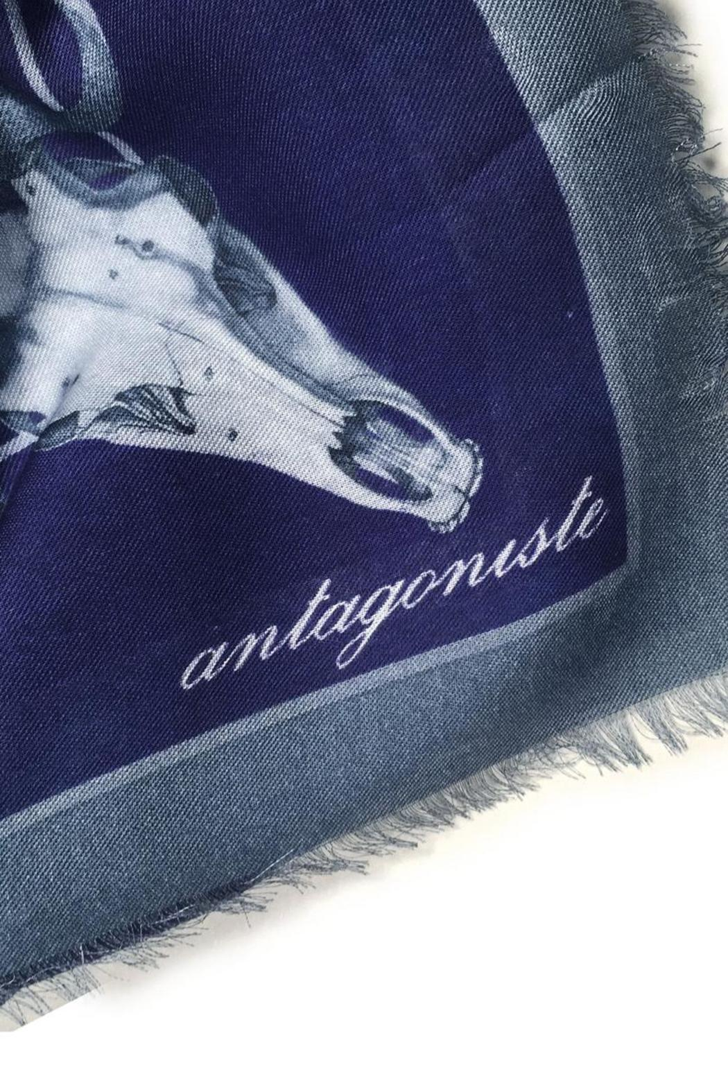 ANTAGONISTE Modal Printed Scarf - Front Full Image