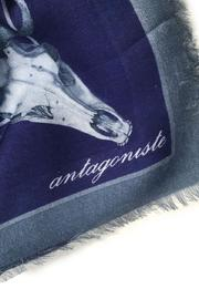 ANTAGONISTE Modal Printed Scarf - Front full body