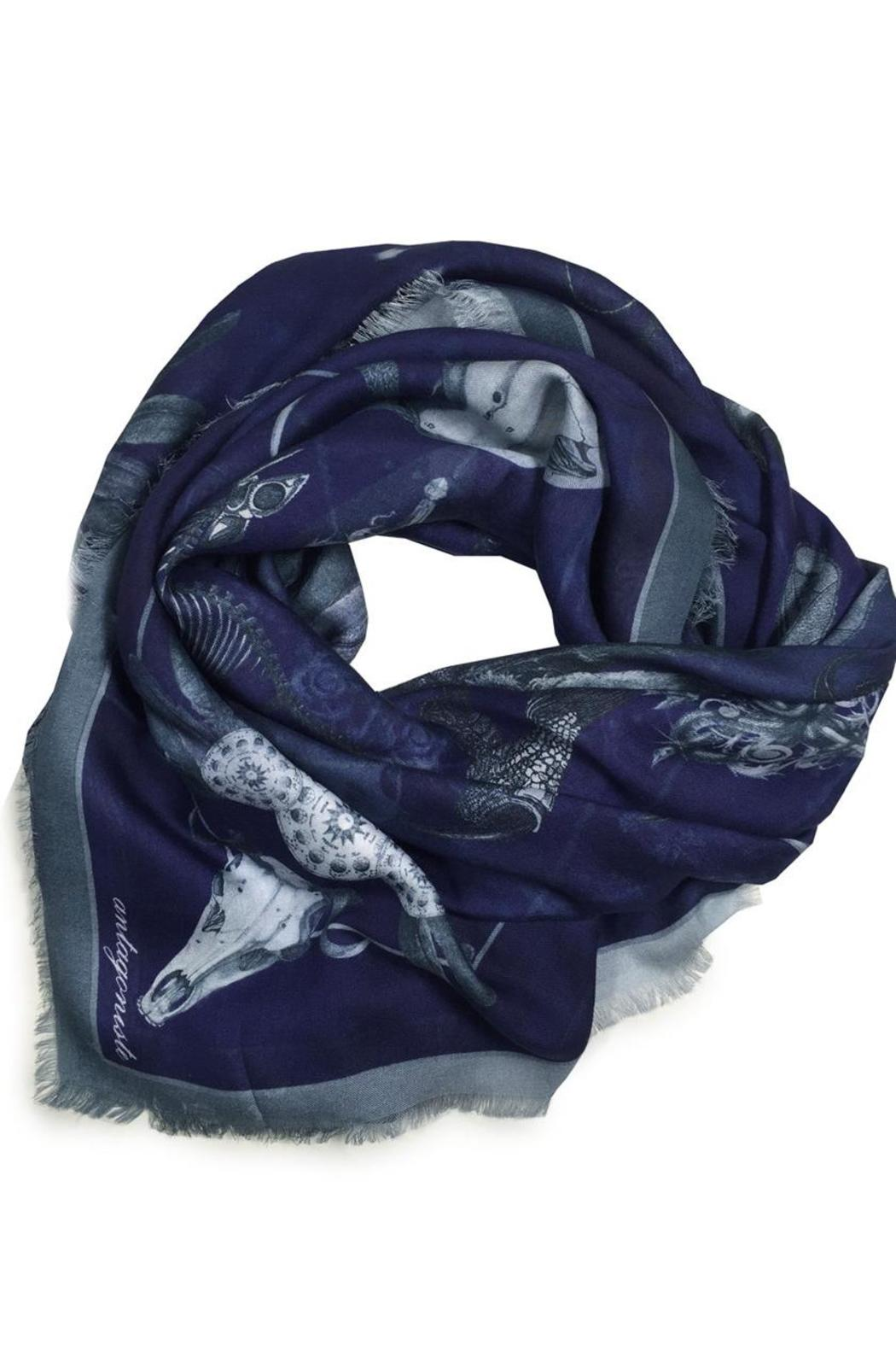 ANTAGONISTE Modal Printed Scarf - Main Image