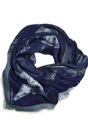ANTAGONISTE Modal Printed Scarf - Front cropped