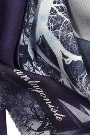 ANTAGONISTE Scarf Modal Printed - Front full body