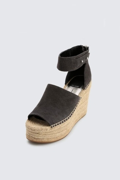 Dolce Vita Anthracite Suede Wedge - Alternate List Image