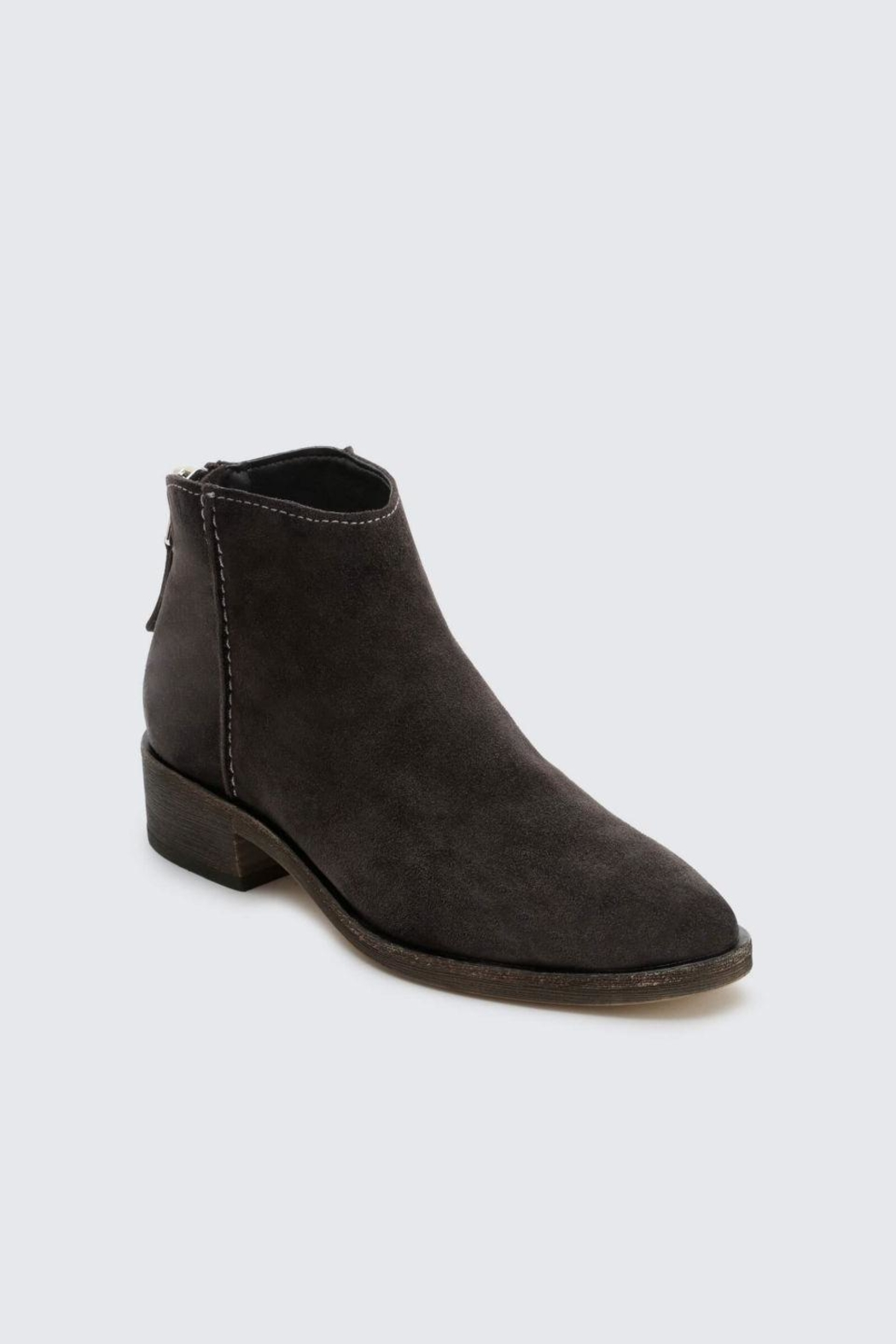 Dolce Vita Anthracite Tucker Booties - Front Full Image
