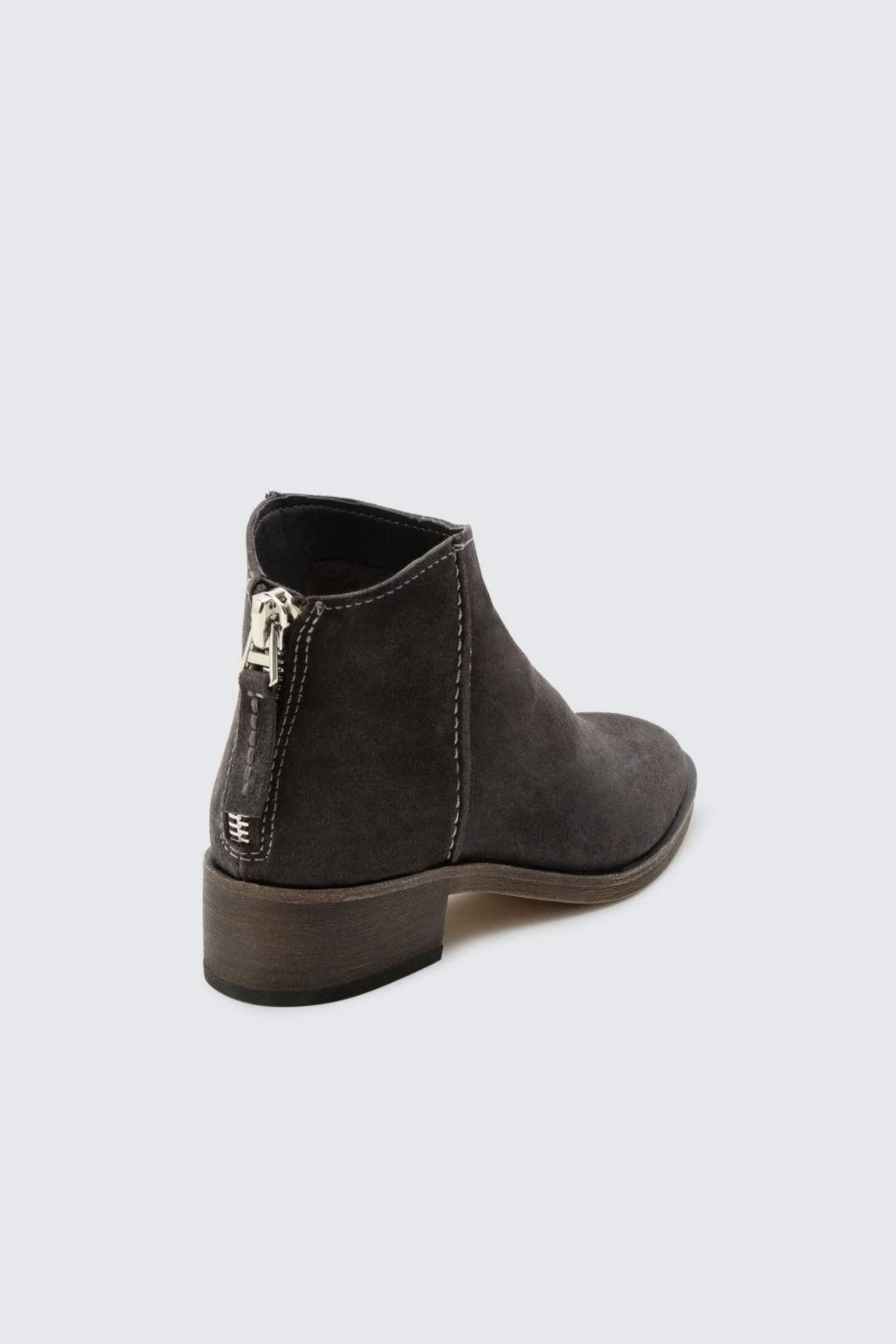 Dolce Vita Anthracite Tucker Booties - Side Cropped Image