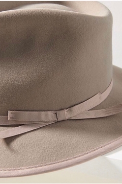 Anthropologie Lex Trimmed Fedora - Grey - Alternate List Image