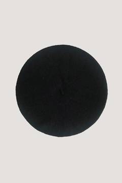ANTIDOTE STUDIO Eco Beret Noir - Alternate List Image