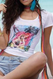 Antigel Lise Charmel Samarkand Burnout Tshirt - Product Mini Image