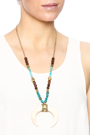 Antigua Tusk Look Necklace - Back cropped
