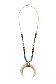 Antigua Tusk Look Necklace - Product Mini Image